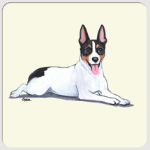 Rat Terrier Beverage Coaster