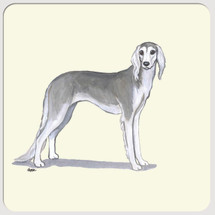 Saluki Beverage Coasters