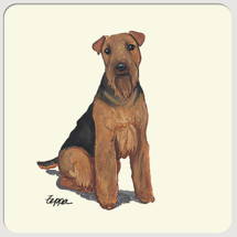 Welsh Terrier Beverage Coasters