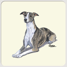 Whippet Beverage Coasters