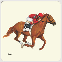 Race Horse Beverage Coasters
