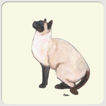 Siamese Cat Beverage Coasters