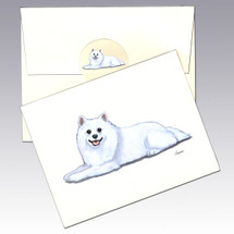 American Eskimo Note Cards
