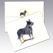 Australian Cattle Dog Note Cards