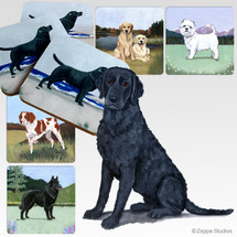 Curly Coated Retriever Scenic Coasters
