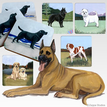 Great Dane Scenic Coasters