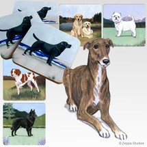 Greyhound Scenic Coasters