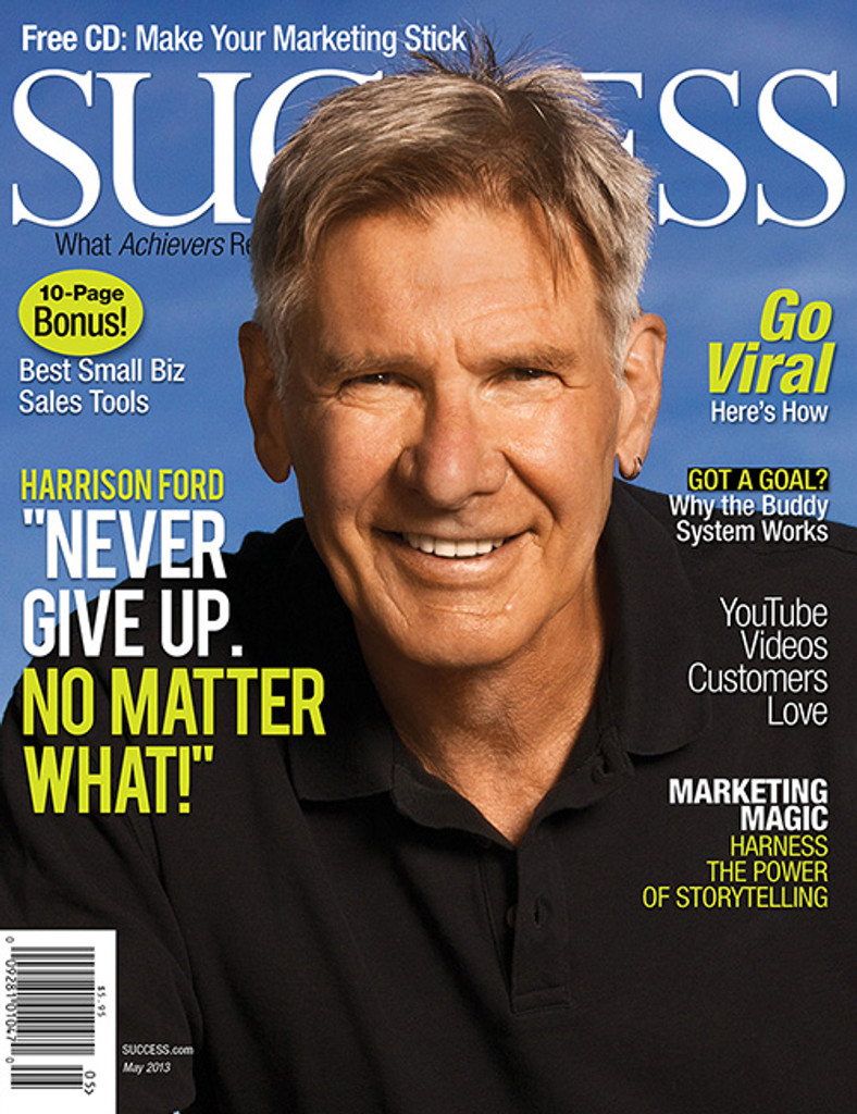 SUCCESS Magazine May 2013 - Harrison Ford