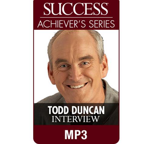 SUCCESS Achiever's Series MP3: Todd Duncan