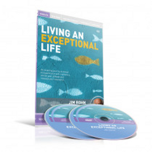 Living an Exceptional Life DVD/CD Set by Jim Rohn