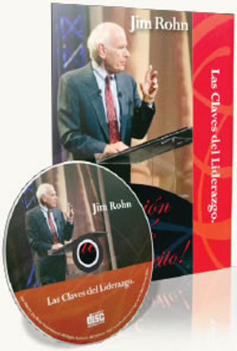 Las Claves del Liderazgo Spanish CD by Jim Rohn