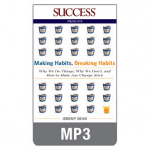 Making Habits Breaking Habits MP3 audiobook by Jeremy Dean