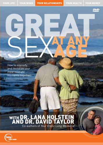 Great Sex at any Age MP3 Audio by Drs. Lana Holstein and David Taylor