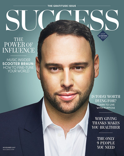 Success Magazine November 2017 - Scooter Braun