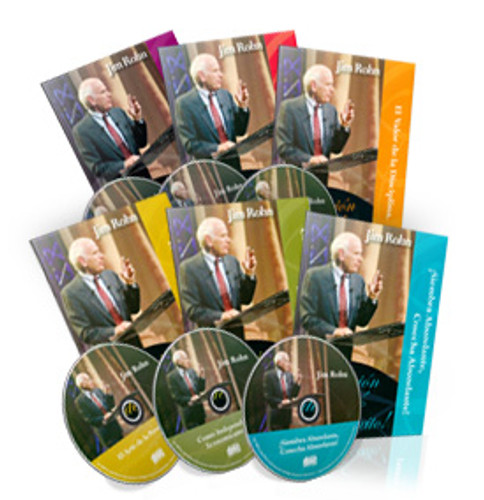 Complete Jim Rohn Success Audio Collection in Spanish