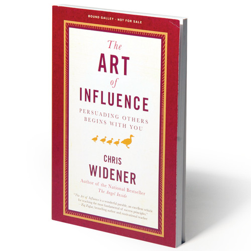 The Art of Influence by Chris Widener (hardback)