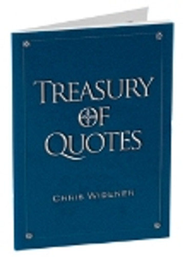 Treasury of Quotes Booklet by Chris Widener