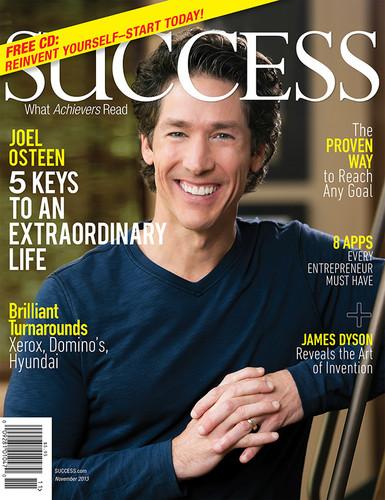 SUCCESS Magazine November 2013 - Joel Osteen