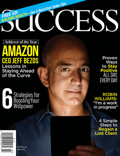 SUCCESS Magazine March 2014 - Jeff Bezos, Achiever of the Year