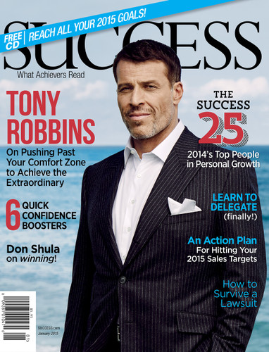 SUCCESS Magazine January 2015  - Tony Robbins