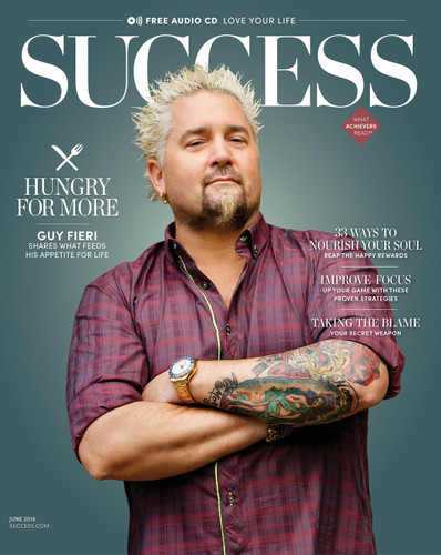 SUCCESS Magazine June 2016 - Guy Fieri