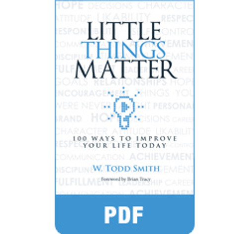 Little Things Matter eBook (PDF) by Todd Smith