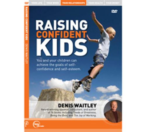 Raising Confident Kids MP3 Audio by Denis Waitley