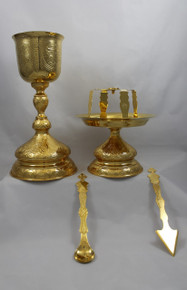 Chalice- Chalice Set, embossed