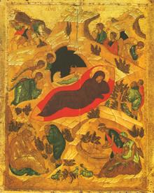 Icon- Nativity (1) - x-small