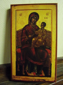 Icon- Panagia Enthroned
