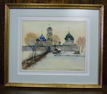 Wall Art- Russian Church in Winter (2)