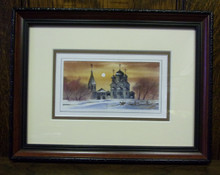 Wall Art- Russian Church in Winter (3)