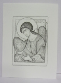 Greeting Card- Mixed Note Card Set of Angel Drawings (set of 16)