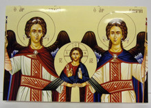 Greeting Card- Holy Archangels Note Card
