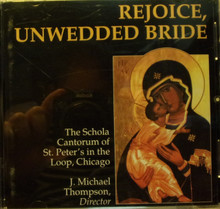 CD- Rejoice, Unwedded Bride
