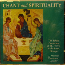 CD- Chant And Spirituality