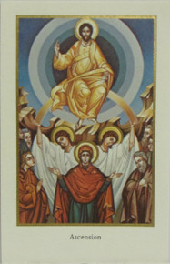 """Holy Card- """"Ascension"""" Holy Card"""