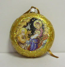 Ornament- Nativity (Gold)