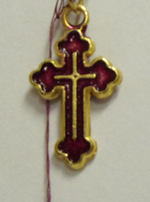 Jewelry- Cross Pendant (Purple)