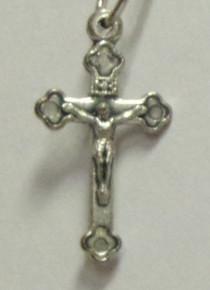 Jewelry- Silver Crucifix Pendant
