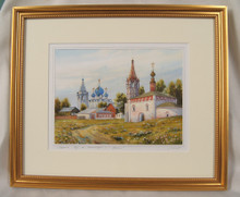 """Wall Art- """"A Summer Day"""" Convent of the Intercession in Suzdal, Russia"""