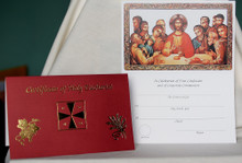 Certificate- Certificate of Holy Eucharist