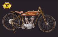 PO1921 Harley-Davidson Model J Motorcycle Postcard