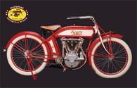 1913 Sears V-Twin Bike Postcard