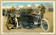 Armoured Motorcycle Postcard