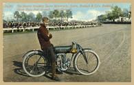Sears Motorcycle Postcard