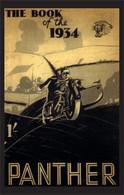 Panther Motorcycle Postcard