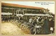 Motorcycle Club Postcard