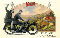 Famous James Postcard