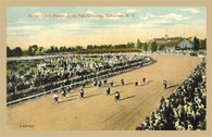 Motorcycle Races Postcard